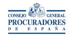 Logo con el acceso al consejo general de procuradores de españa